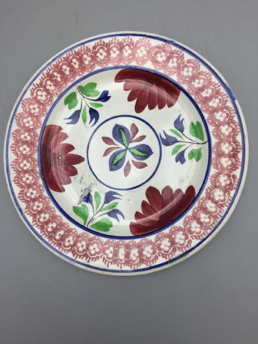 Grouping of 7  various  plates - 10