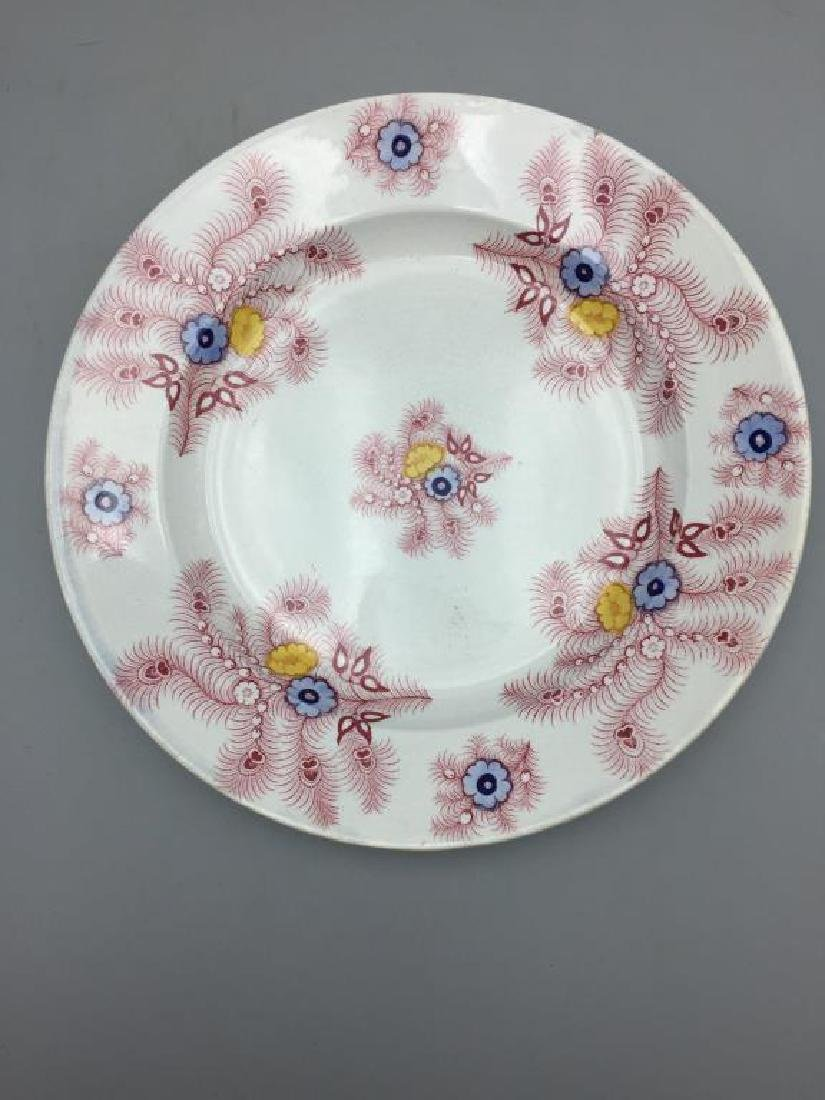 Grouping of 7  various  plates - 2