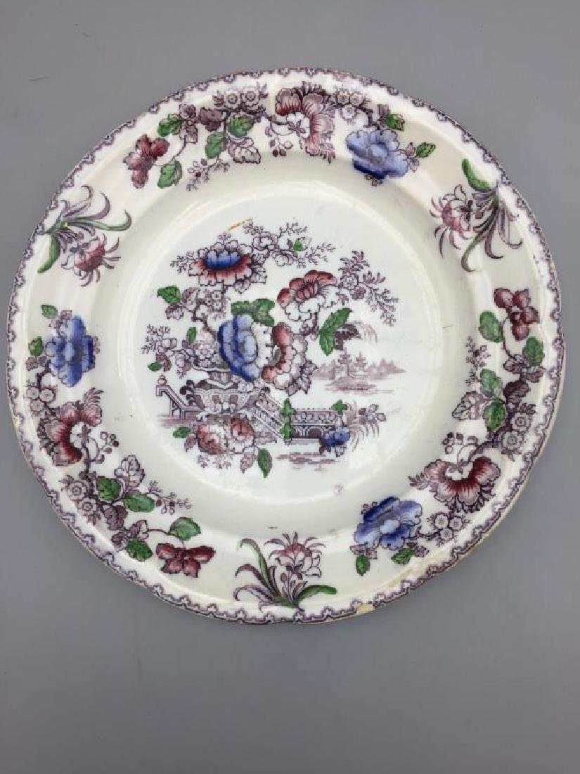 Grouping of 7  various  plates - 4