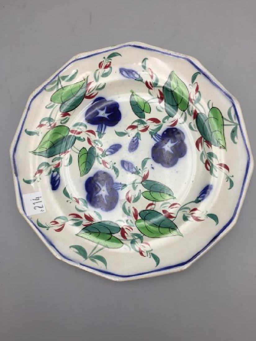 Grouping of 7  various  plates - 6