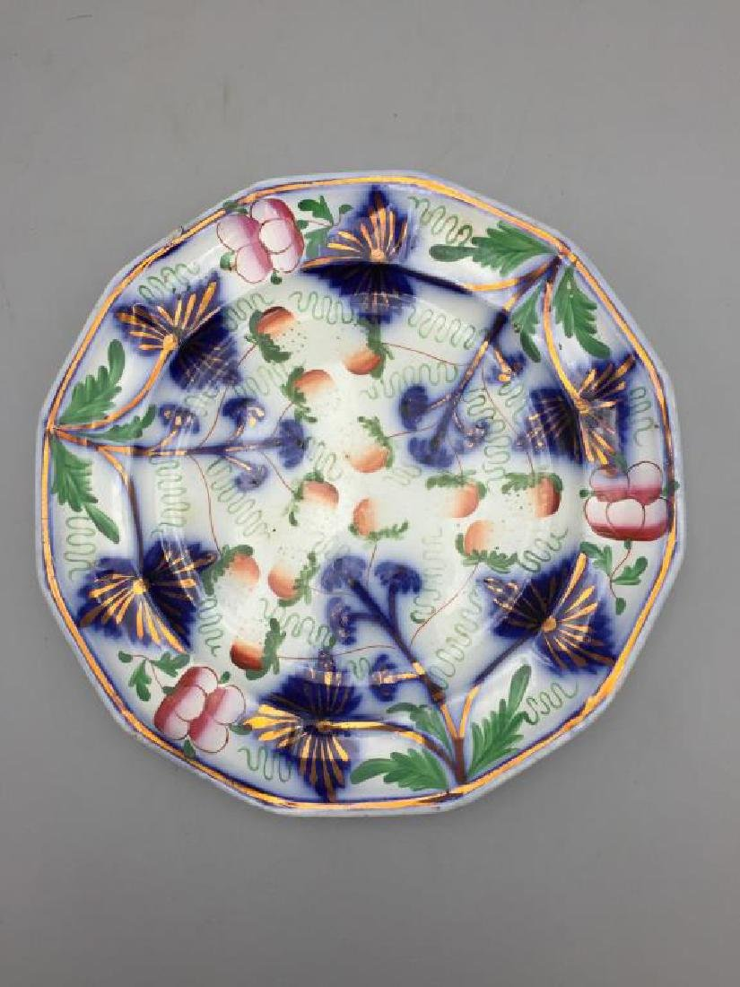 Grouping of 7  various  plates - 7