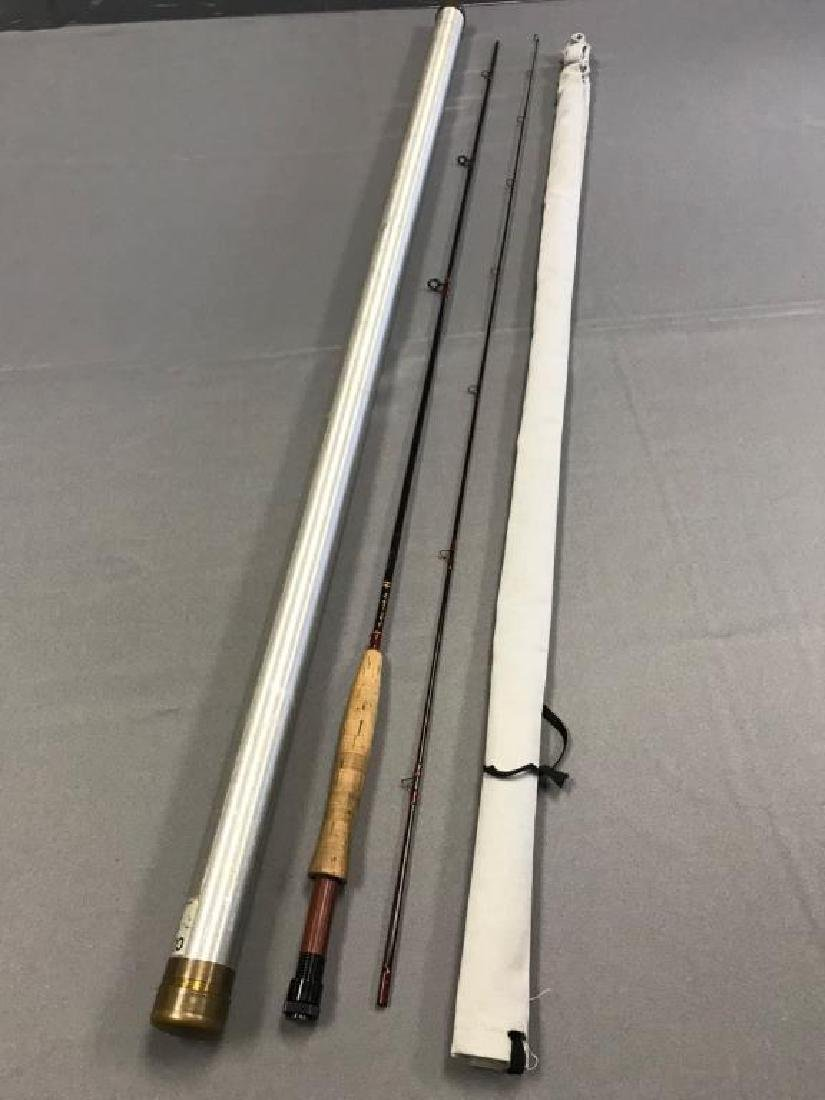 Custom built fly rod