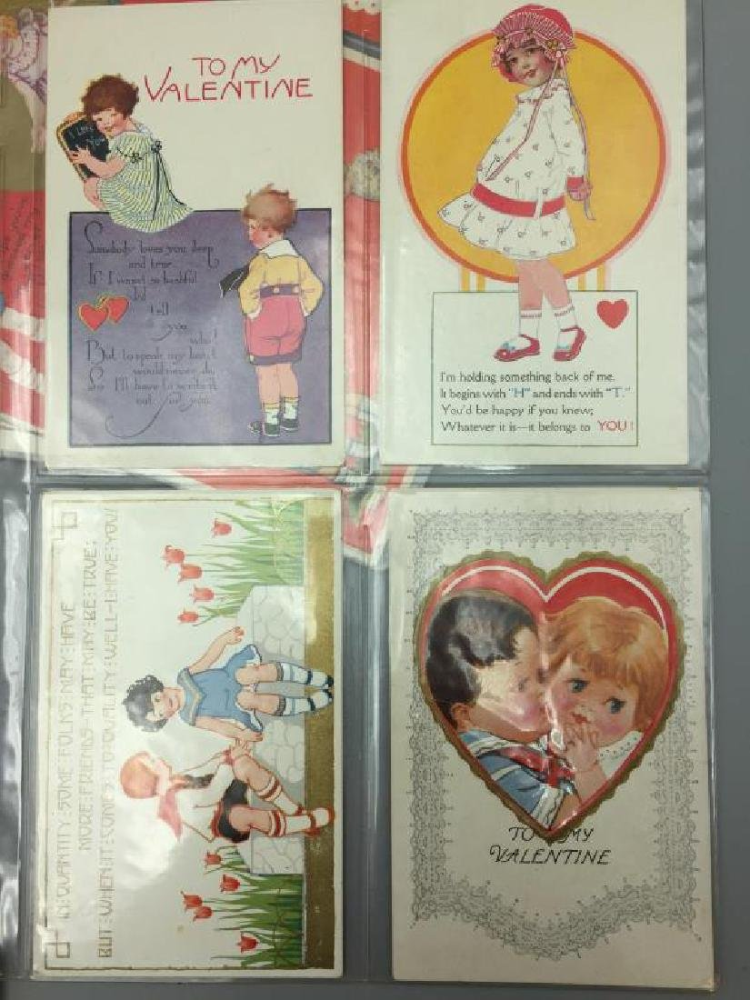 Antique Grouping of Valentine's  day postcards - 4
