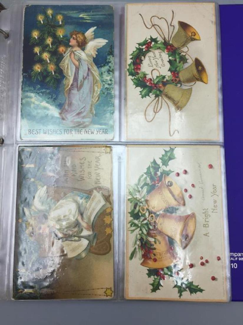 Large Lot of antique postcards - 3