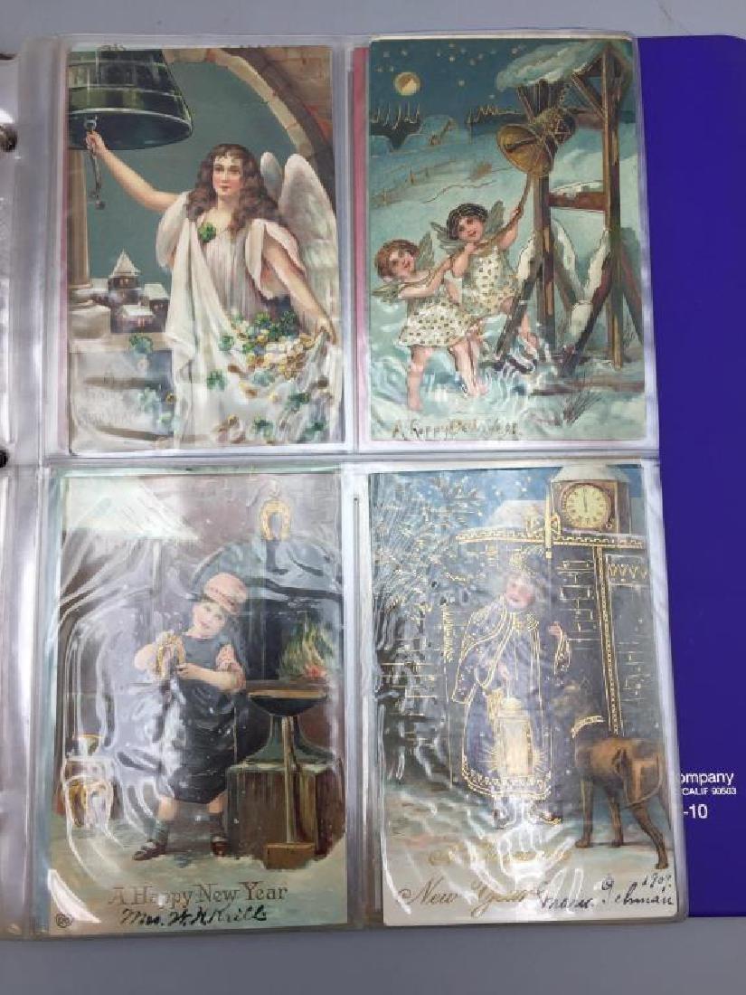 Large Lot of antique postcards - 4