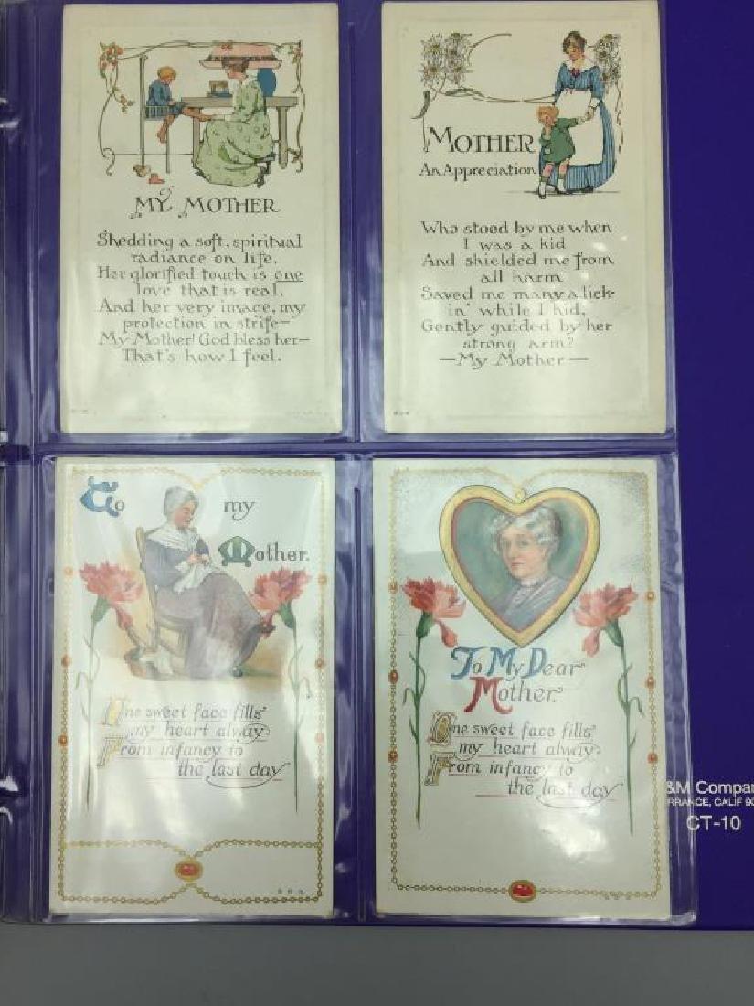 Large Lot of antique postcards - 6