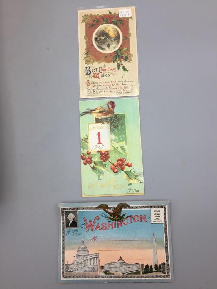 Large Lot of antique postcards - 2