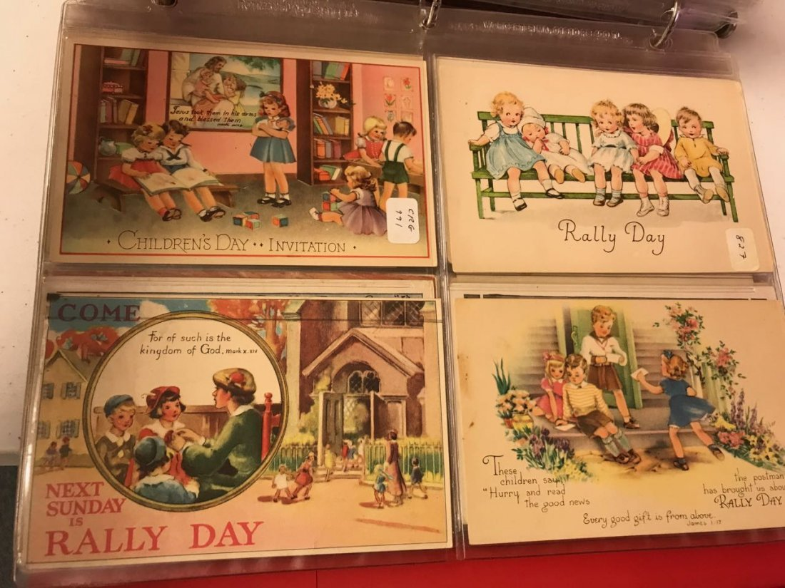 Large lot religious & Easter postcards - 10