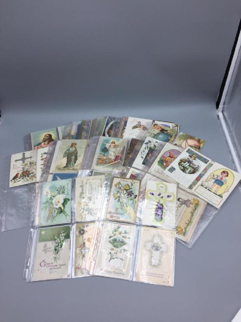 Large lot religious & Easter postcards