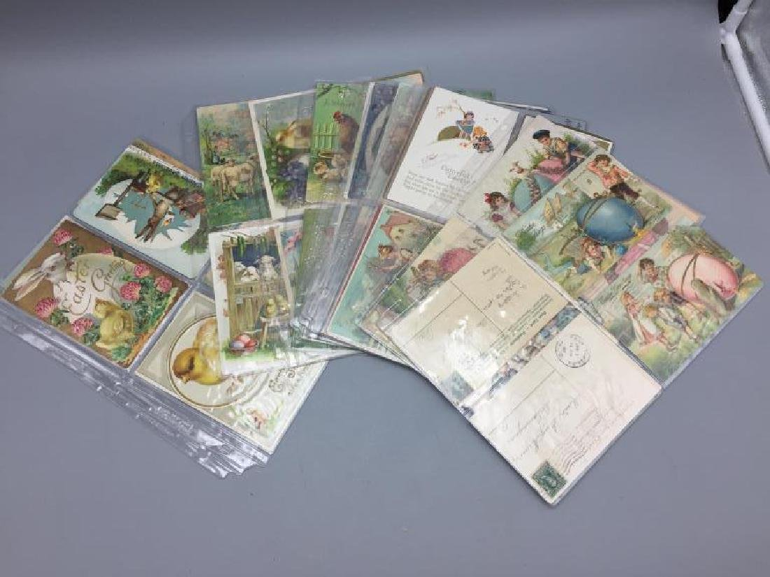 Large lot religious & Easter postcards - 3