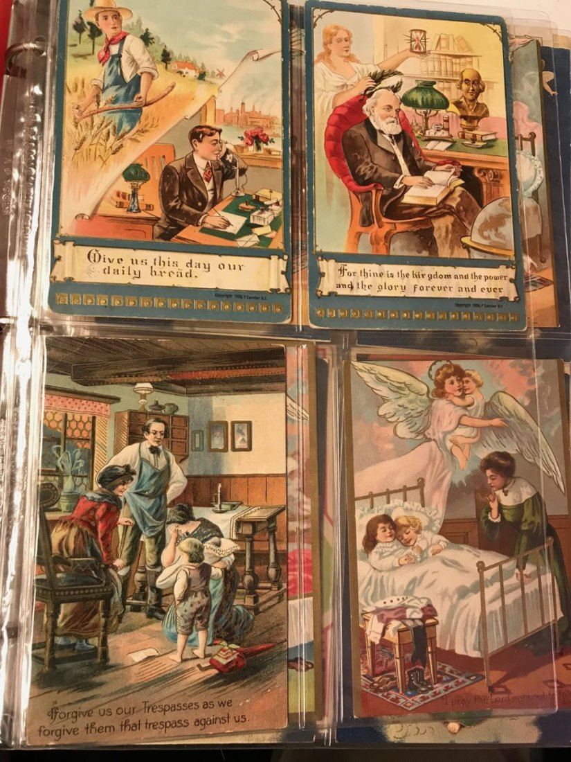 Large lot religious & Easter postcards - 6