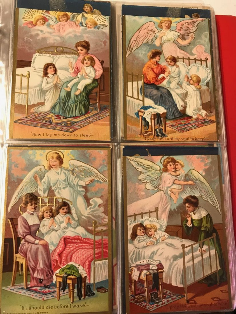 Large lot religious & Easter postcards - 7