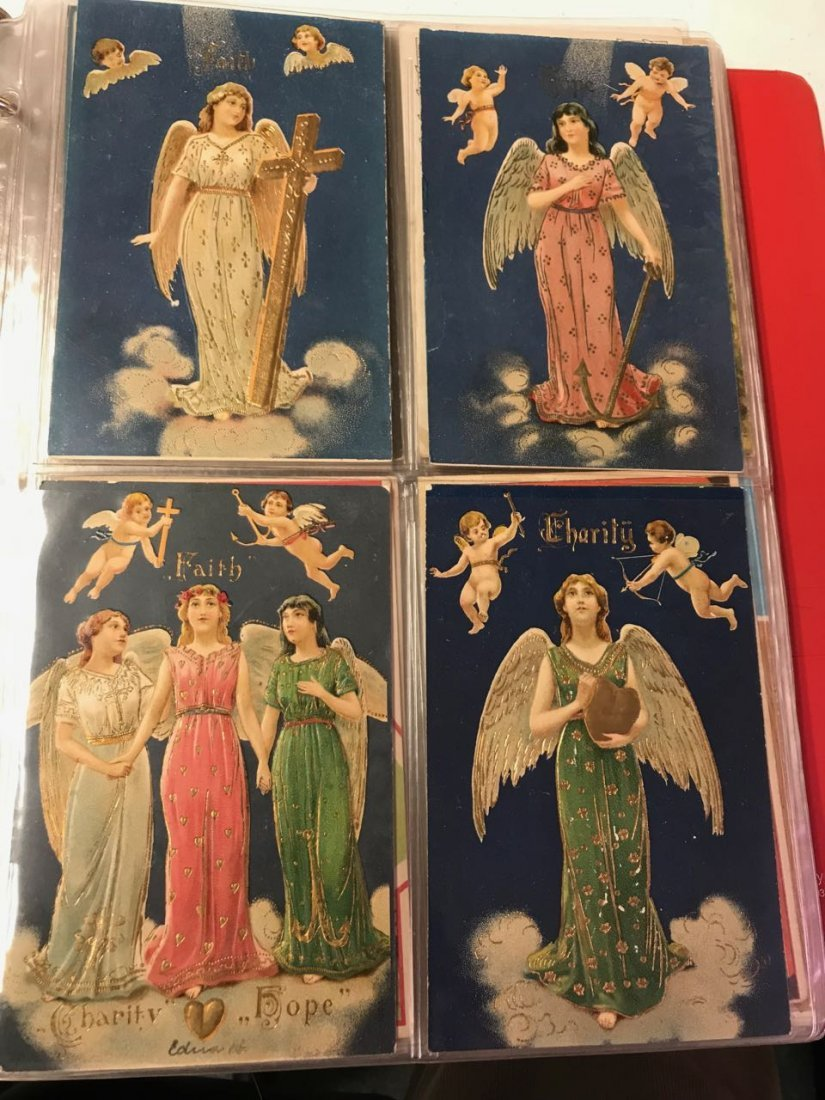 Large lot religious & Easter postcards - 8
