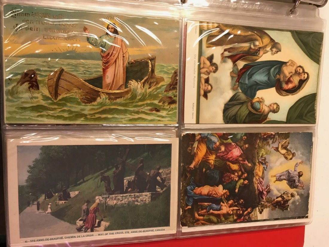 Large lot religious & Easter postcards - 9