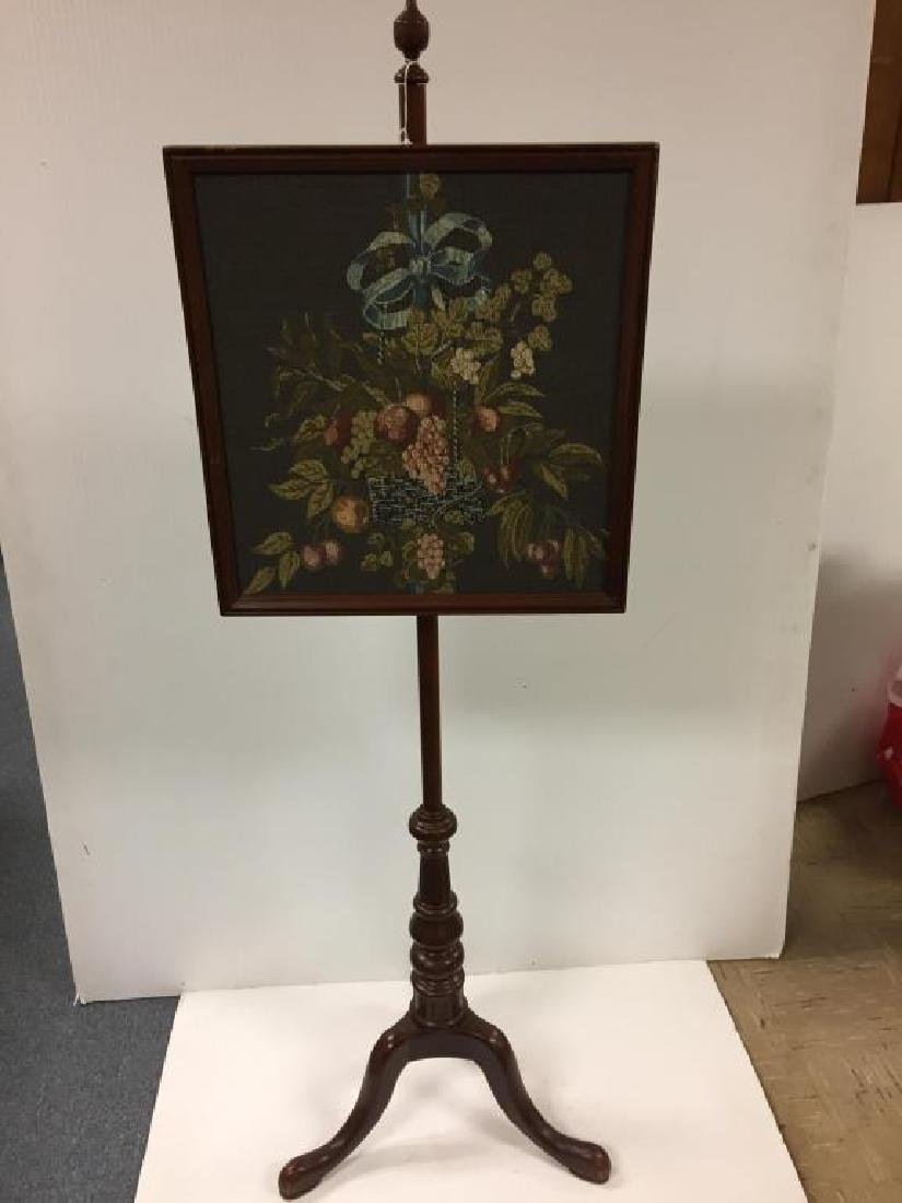 Reproduction fire screen