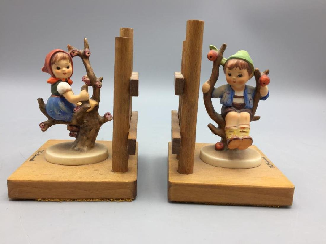 Hummel Apple tree boy and girl bookends
