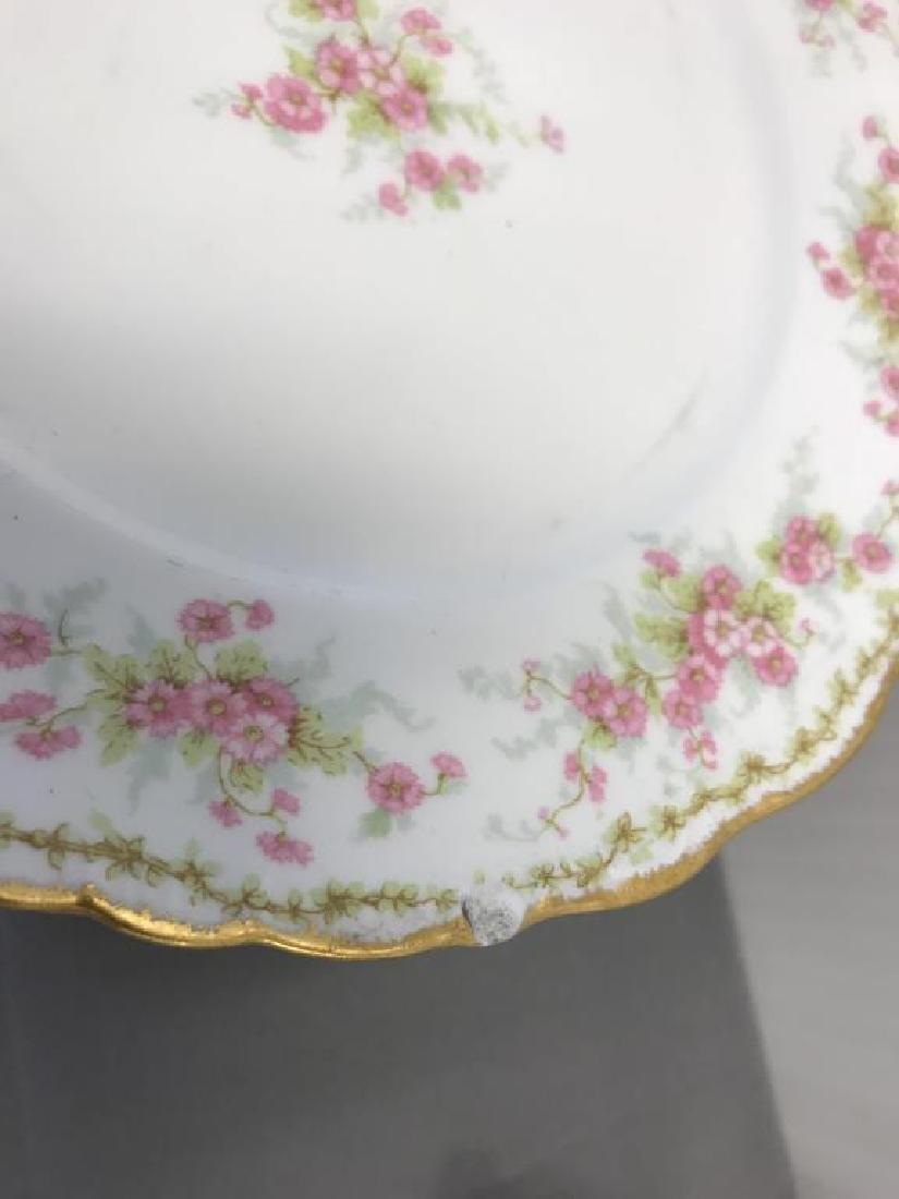 12 Limoge dinner plates - 3