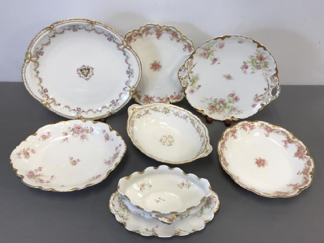 Miscellaneous Haviland Limoge service pieces - 2