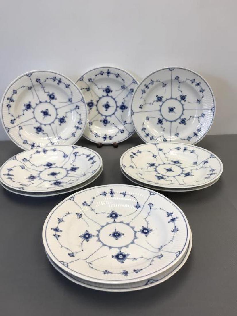 9 Royal Copenhagen dishes