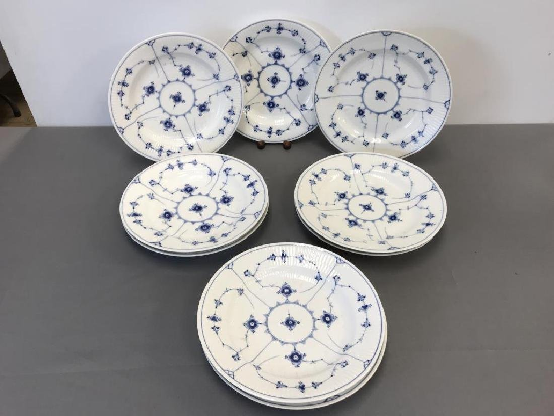 9 Royal Copenhagen dishes - 2