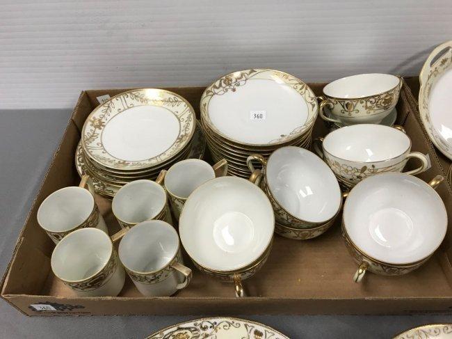 50+ piece Noritake dinnerware set - 3