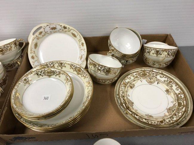 50+ piece Noritake dinnerware set - 4