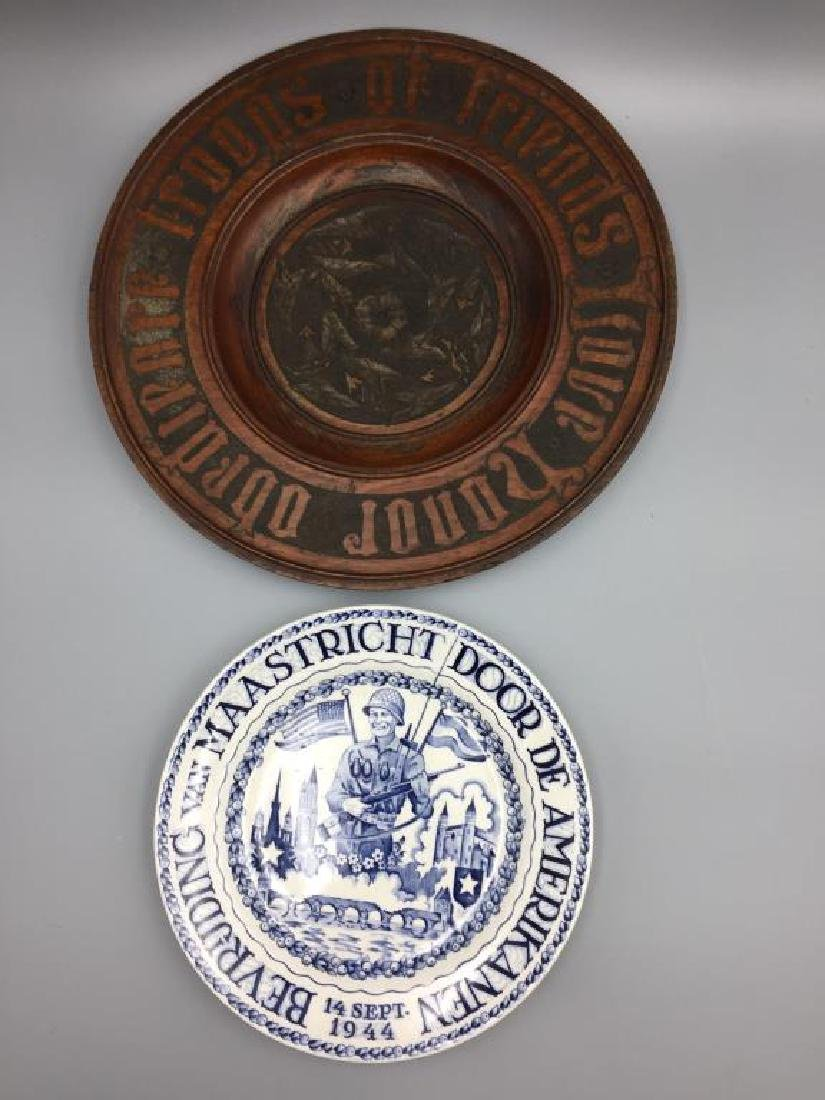 WWII Vet Bring Victory plates
