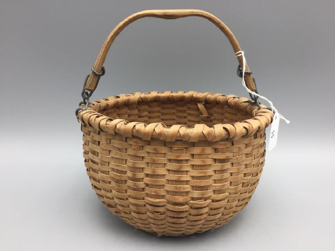 Two miniature baskets split Oak - 2