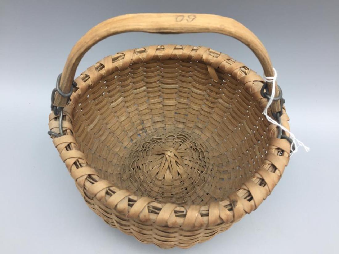 Two miniature baskets split Oak - 3