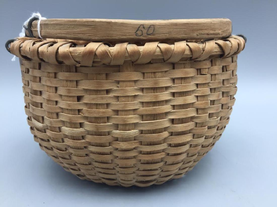 Two miniature baskets split Oak - 4