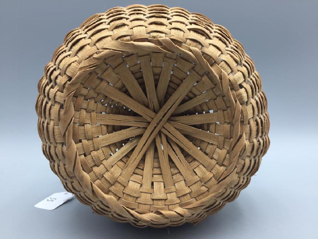 Two miniature baskets split Oak - 5