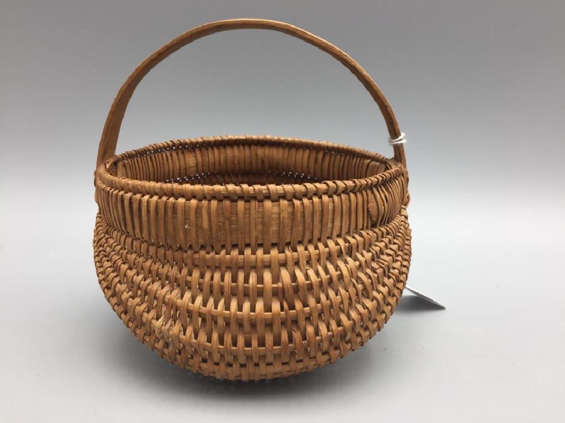 Two miniature baskets split Oak - 6