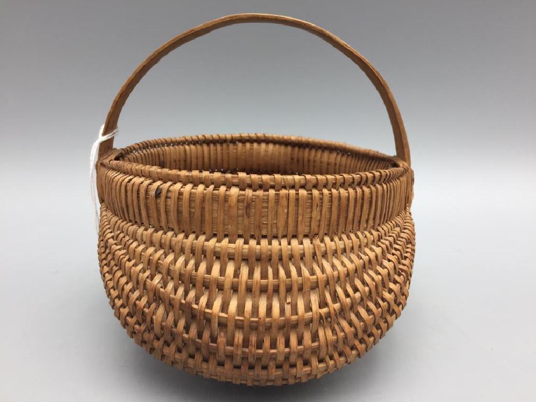 Two miniature baskets split Oak - 7