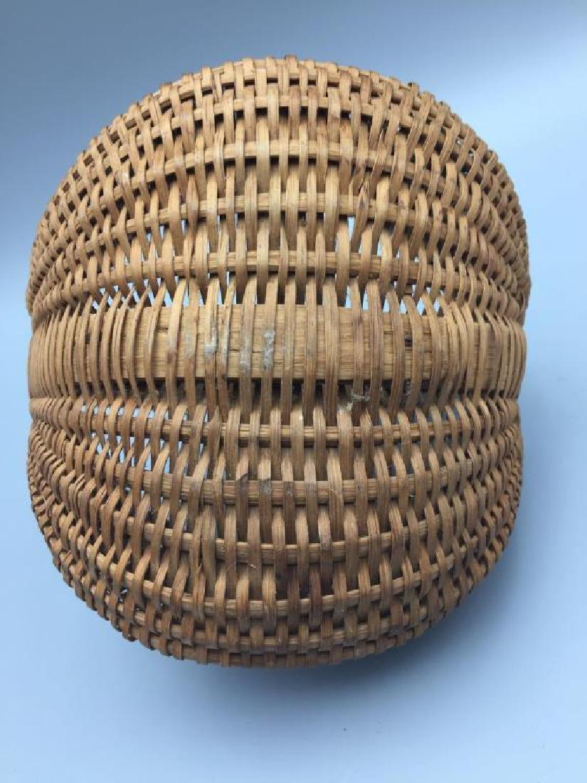 Two miniature baskets split Oak - 9