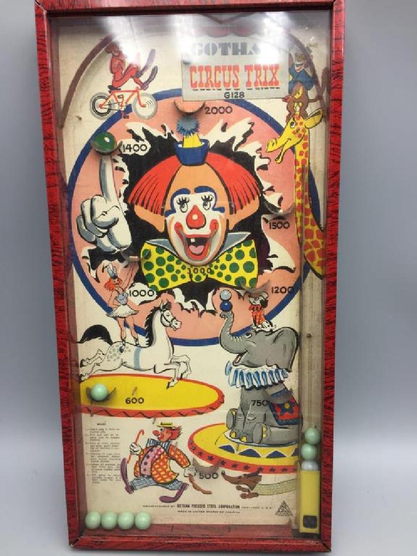 Gotham Circus Tricks pinball Bagatelle