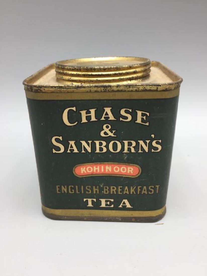 4 Advertising Tea tins - 10