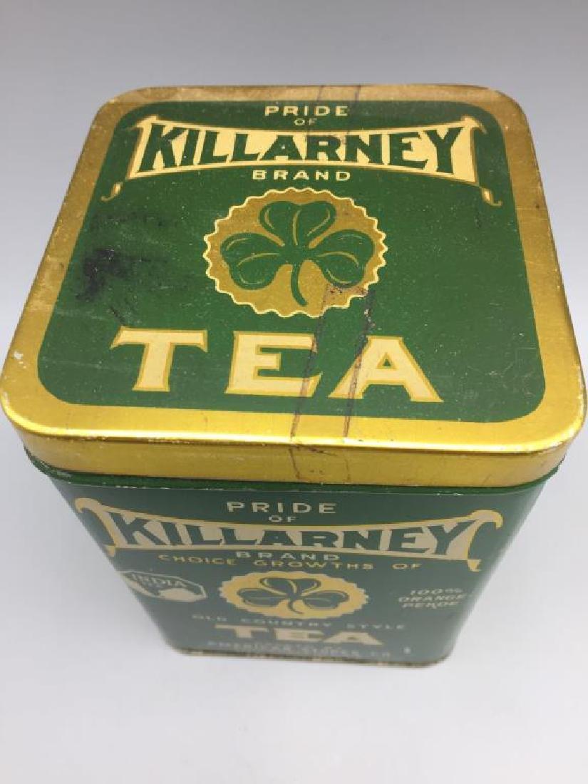 4 Advertising Tea tins - 3