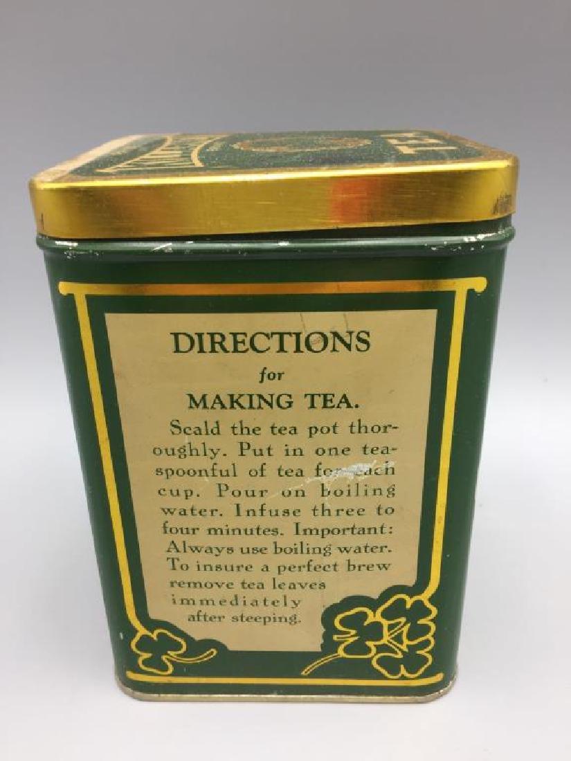 4 Advertising Tea tins - 4