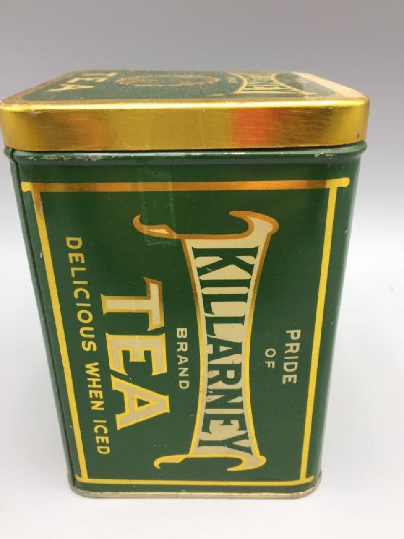 4 Advertising Tea tins - 6