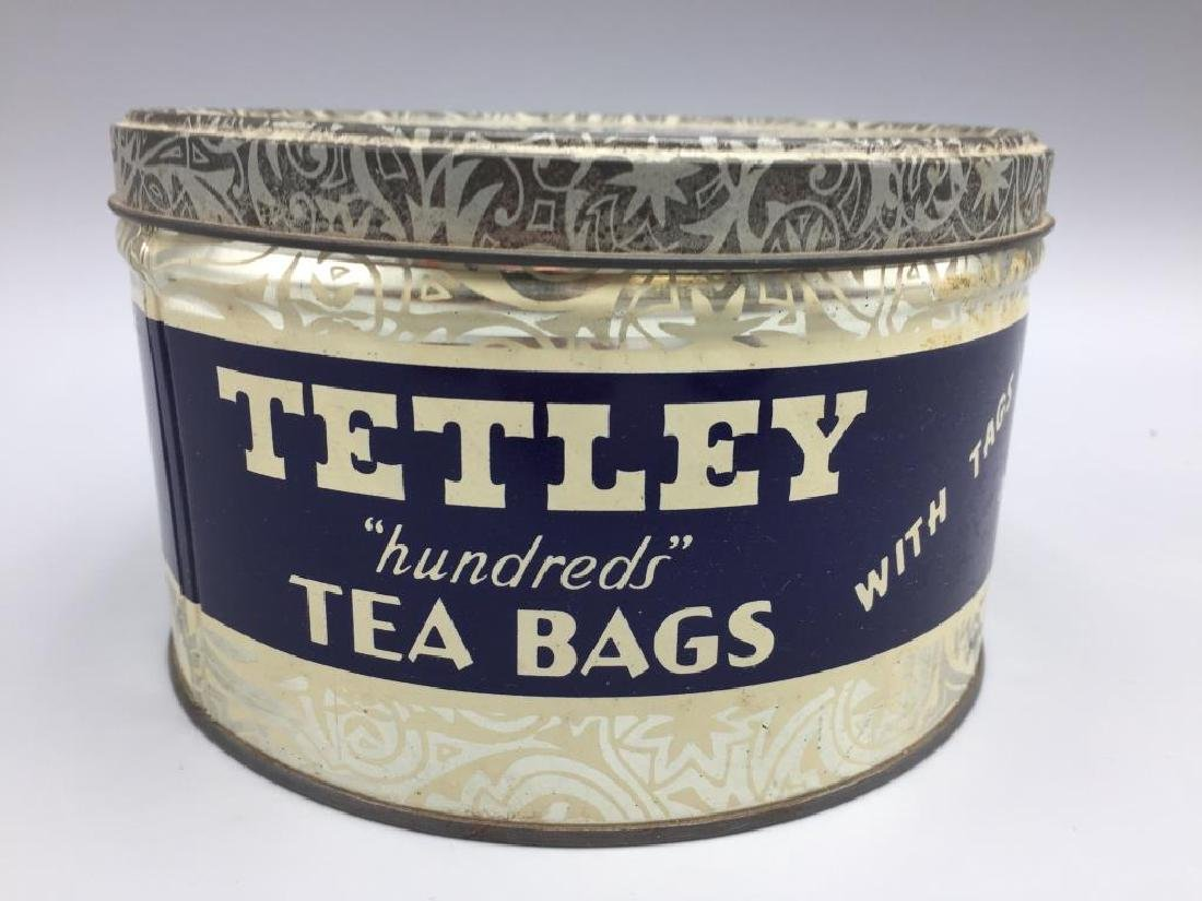 4 Advertising Tea tins - 7