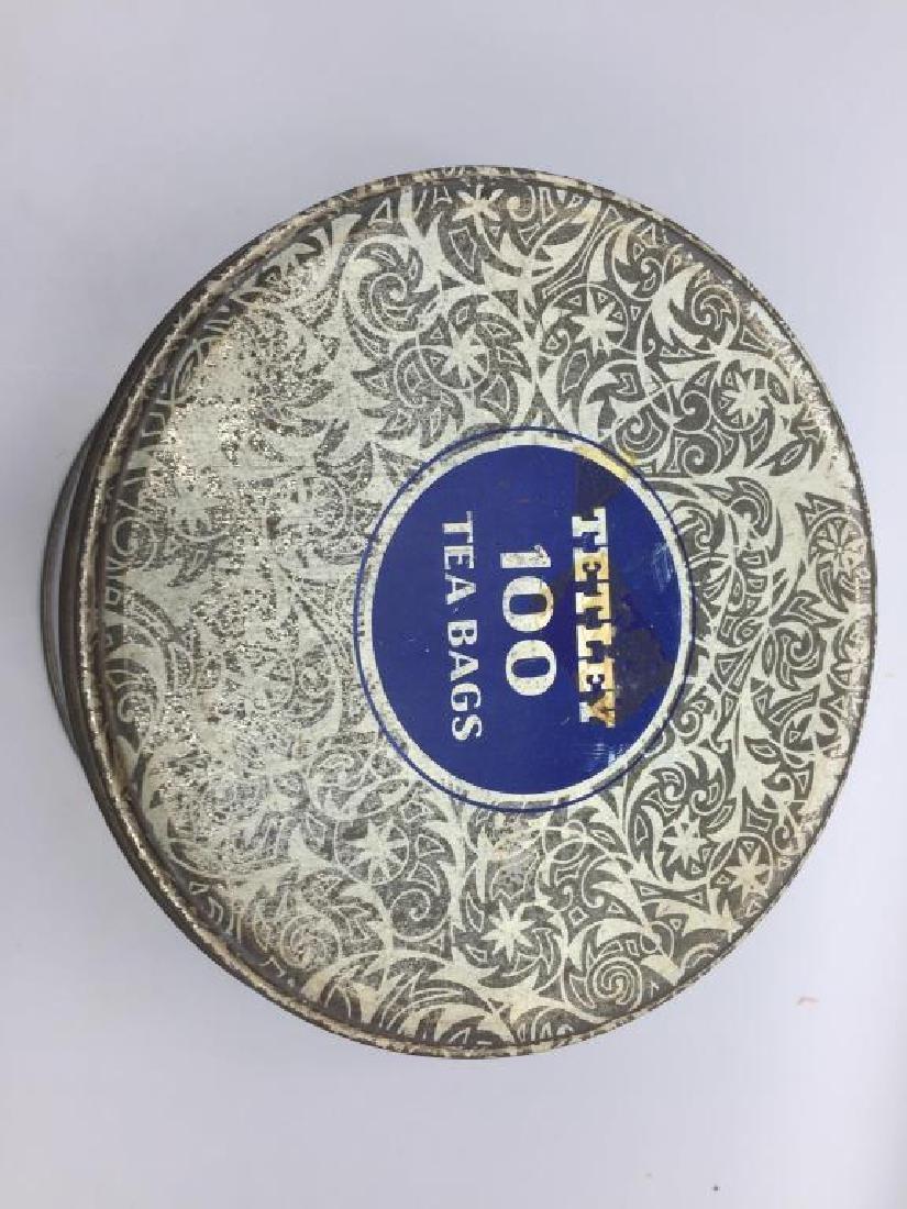4 Advertising Tea tins - 9