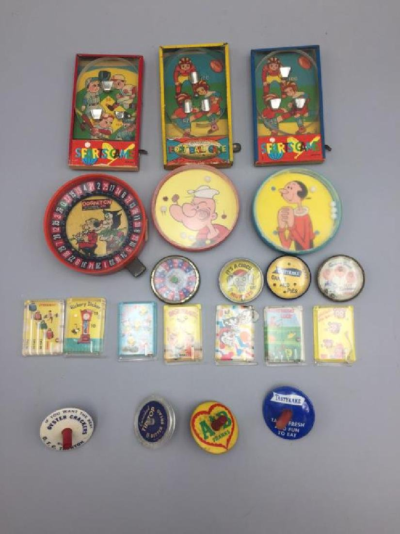 Popeye and Dog Patch dexterity puzzle lot