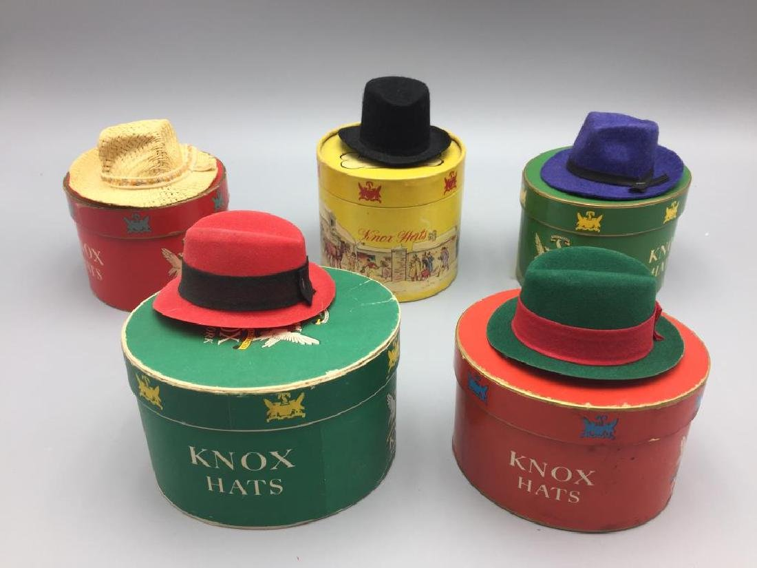 5 boxed gift certificate Knox hats