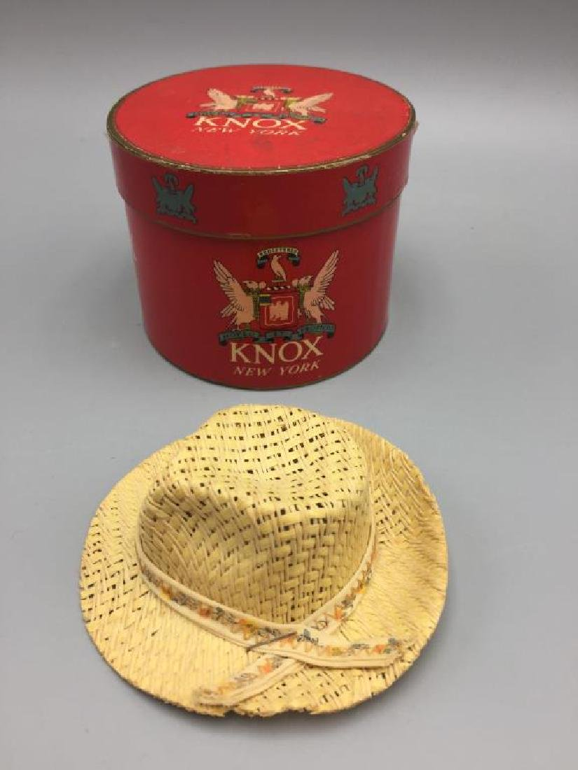 5 boxed gift certificate Knox hats - 4