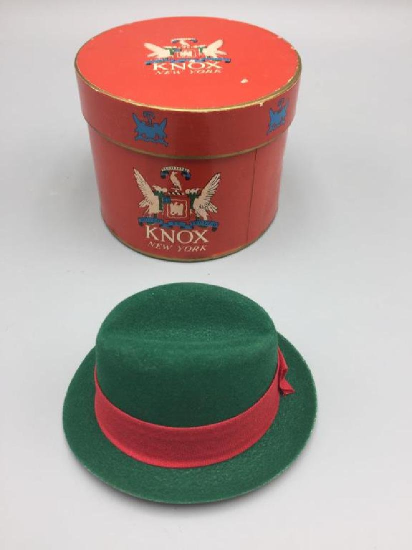 5 boxed gift certificate Knox hats - 5