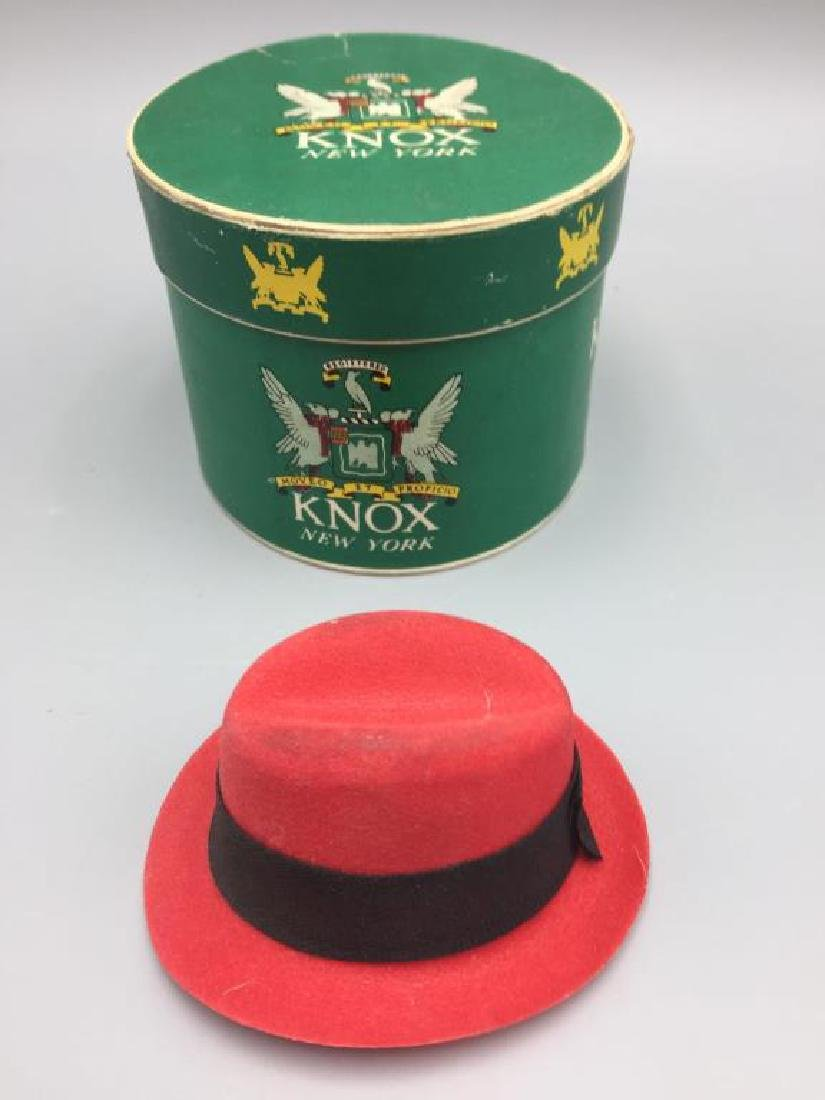 5 boxed gift certificate Knox hats - 6