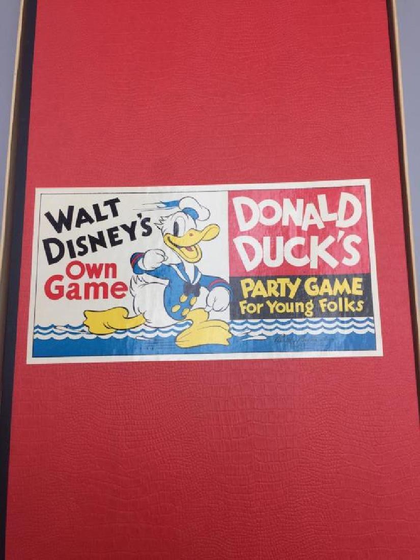 Parker Brothers 1930s Walt Disney Donald Duck - 11