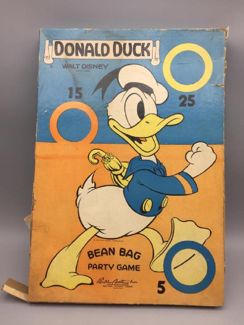 Parker Brothers 1930s Walt Disney Donald Duck