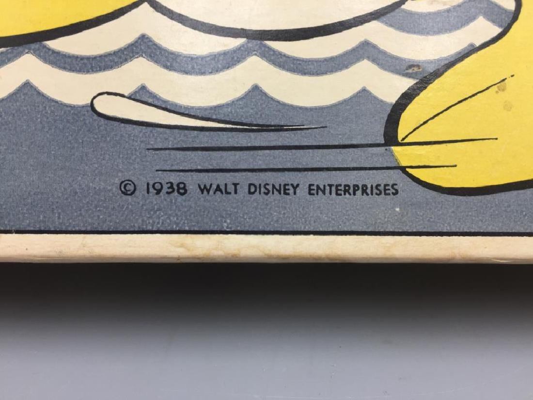 Parker Brothers 1930s Walt Disney Donald Duck - 8