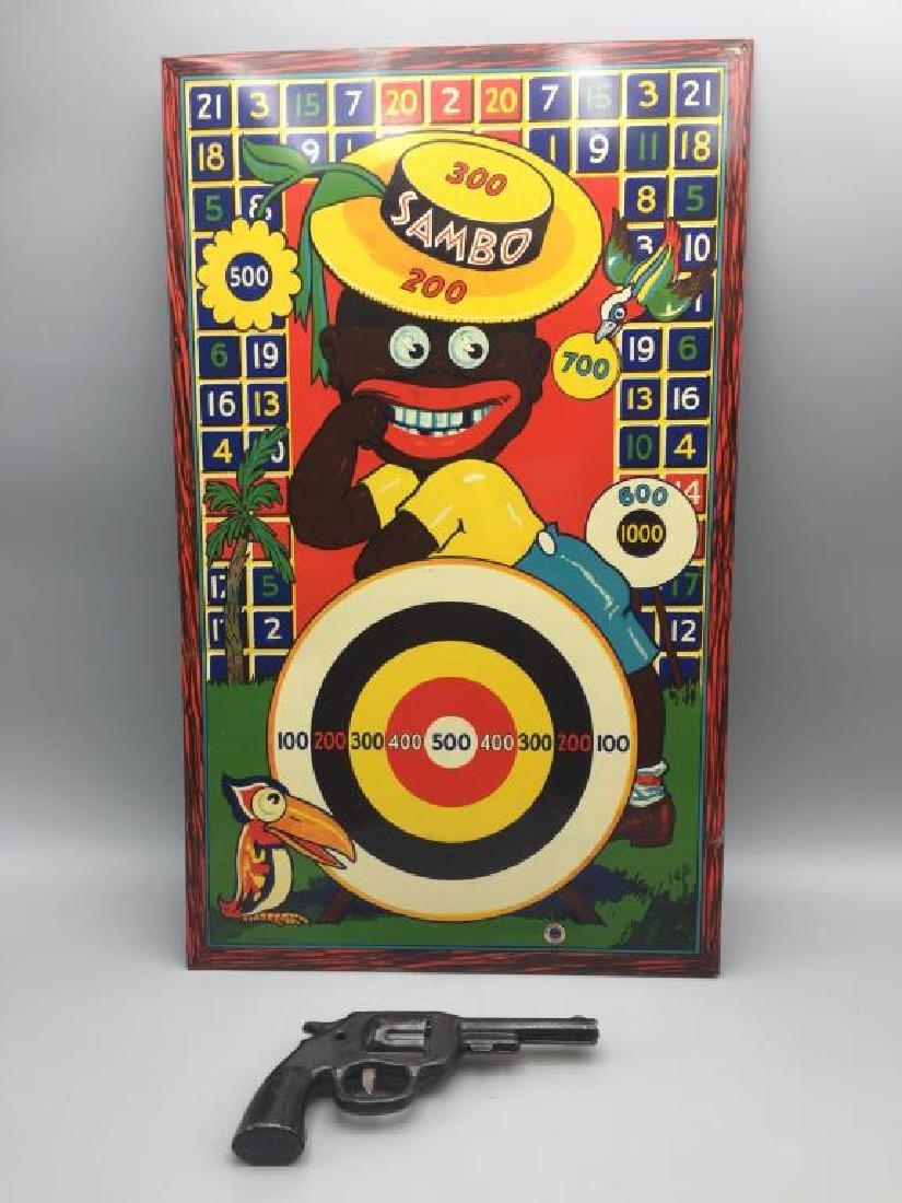 Wyandotte Little Black Sambo Target game